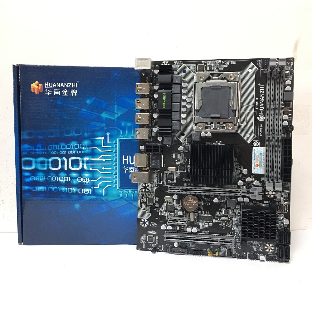 HUANANZHI  X58 LGA1366  DDR3 PC Desktops LGA 1366 Computer Motherboards Suitable for server  ECC  ECC REG RAMHUANANZHI  X58 LGA1366  DDR3 PC Desktops LGA 1366 Computer Motherboards Suitable for server  ECC  ECC REG RAM