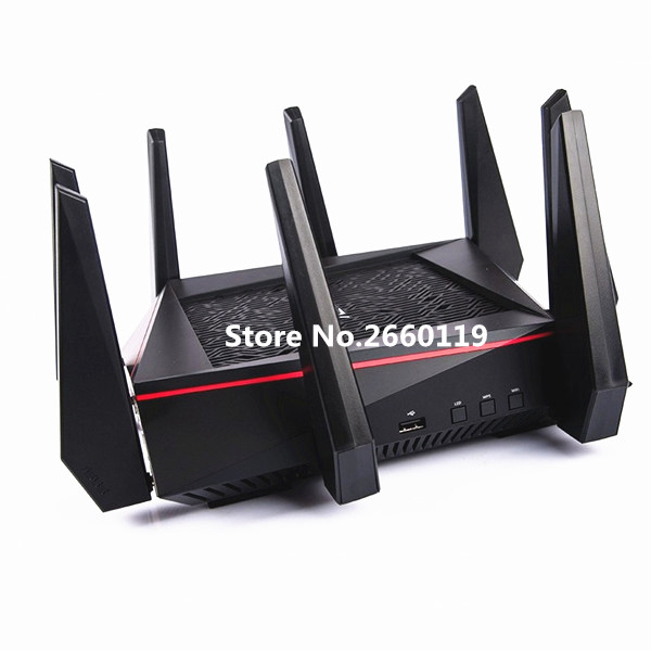High quality For ASUS RT-AC5300 Wireless AC5300 Tri-Band Gigabit Router asus rt ac68u wireless router