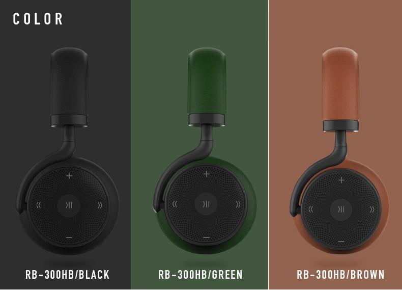 Remax RB-300HB 300HB tête tactile sans fil Bluetooth casque musique amateur interface auxiliaire de haute qualité - 2
