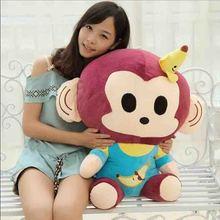 45cm cute cartoon fruit monkey YoCi monkey Valentine's day gifts