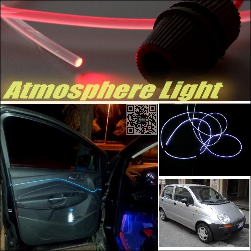 car atmosphere light fiber optic band for daewoo matiz fso formosa furiosa interior refit no. Black Bedroom Furniture Sets. Home Design Ideas