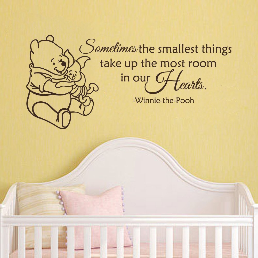 Winnie the Pooh Tigger Cartoon Characters Wall Sticker Home Interior ...