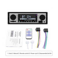 Autoradio Bluetooth Vintage Autoradio lecteur MP3 stéréo USB AUX classique stéréo Audio voiture accessoires fm transmetteur