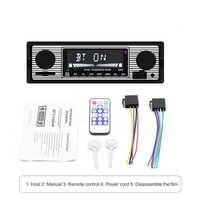 Auto Radio Bluetooth fm transmitter Vintage In-Dash Autoradio MP3 Player auto stereo Audio radio coche Automoble zubehör