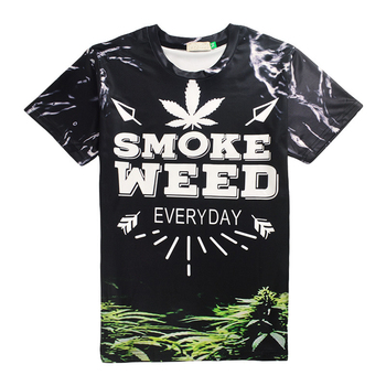 Green Leaves  All Over Print T-shirt 1