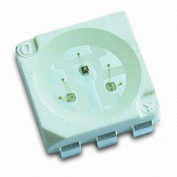 5050 SMD LED green color;with Light Emitting Diode, white color;Suitable for All SMT Assembly and Solder Process