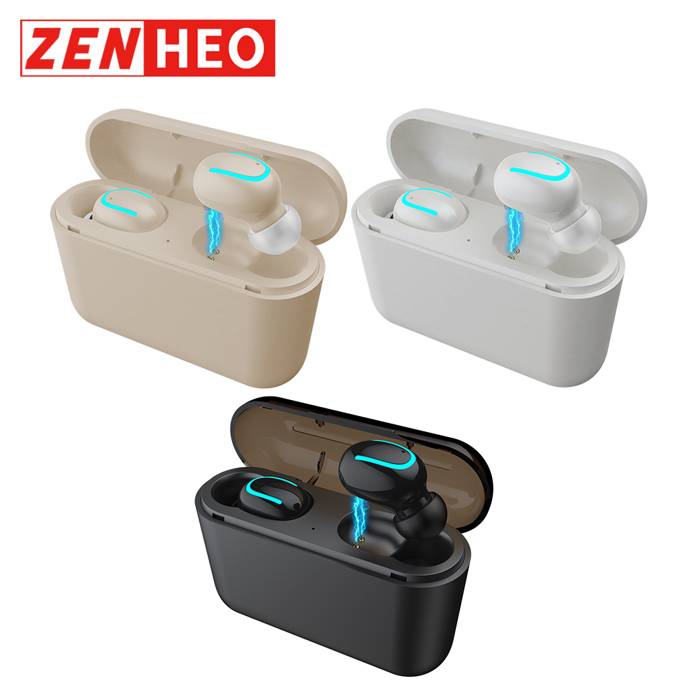 ZENHEO Q32 Airdots BT 5 0 1500mAh Charge Bin with font b Power b font Bank