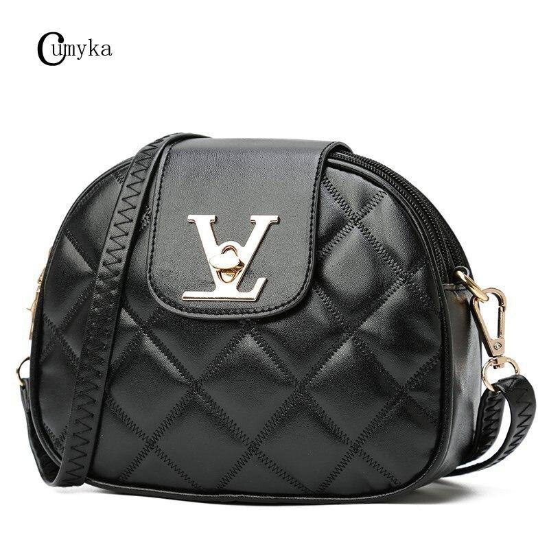CUMYKA Mini Hobos Shoulder Bag 2019 New Fashion Women Handbag PU Small Messenger Crossbody Zipper Soft Sequined Ladies Bags