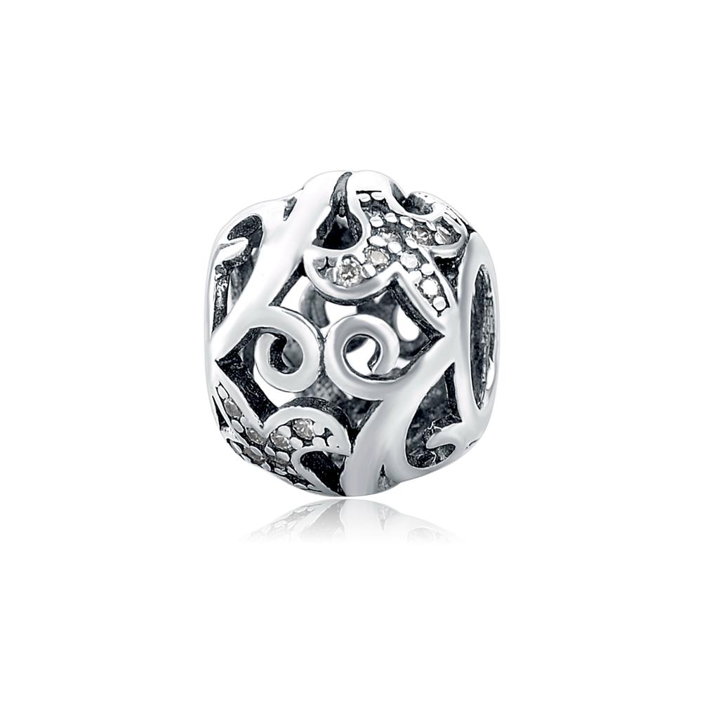 Aliexpress 100% 925 Sterling Silver 925 charm Beads Fit Authentic pandora Bracelets Berloques pendant DIY Jewelry making Gifts