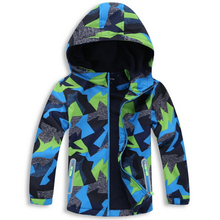 Waterproof Index 5000mm Baby Boys Jackets Child Coat Windproof Warm Polar Fleece Children Outerwear For 3 12 Years Old