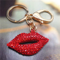 Y60 губы брелки брелки ключи chaveiros feminino llaveros mujer аксессуары porta чавес porte clef portachiavi брелки