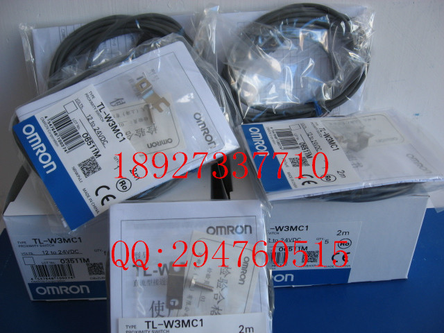 [ZOB] New original OMRON Omron proximity switch TL-W3MC1 2M  --5PCS/LOT e2ec c1r5d1 e2ec c3d1 new and original omron proximity sensor proximity switch 12 24vdc 2m
