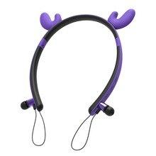 Wireless Earphone Magnetic Bluetooth Headset Cool Earpods Lovely Earbuds With MI