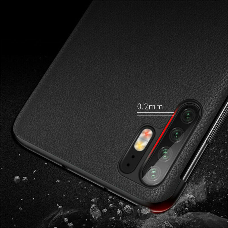 For Huawei P30 Pro Smart View Window Flip Leather Shockproof Case Cover Luxury Mirror Flip Case For Huawei P30 lite Pro Fundas