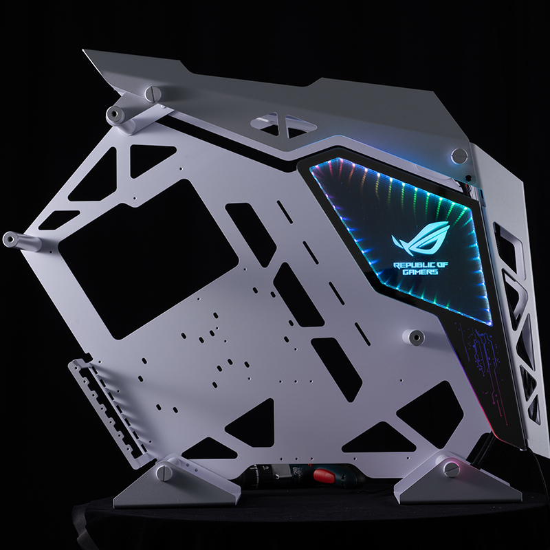 Cougar Conqueror Computer Case Font Sideboard Customize ,refit Pc Game Panel ,support Sync Motherboard For 5v RGB Color,mirror