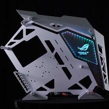 Cougar conquistador caso fuente aparador personalizar reparación juego de pc panel apoyo de sincronización de la placa base para 5 v RGB Color espejo
