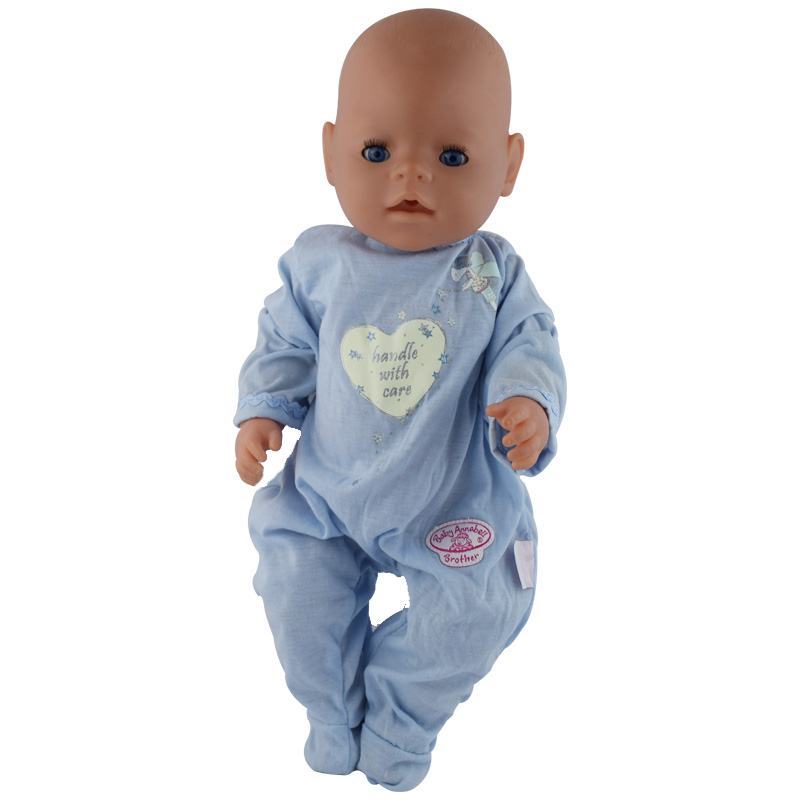Promotional Items ! Directly Facotry Price 43cm Baby Born Zapf Doll Long Sleeves Jumpsuit Best Gift For Girl Baby best price 5pin cable for outdoor printer