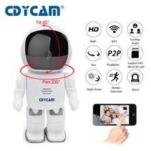 CDYCAM Roboter Ip-kamera HD WIFI Babyphone 960 P 1.3MP CMOS drahtlose CCTV P2P Audio Sicherheit Fernbedienung Haus Cam IR Nachtsicht