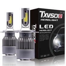 H1 H3 H7 Led Koplamp Lamp Car Light H13 H27 880 5202 9004 9007 Hb4 9006 9005 Hb3 Lamp Luces led H4 Para Auto Fog H11 6000K 12V