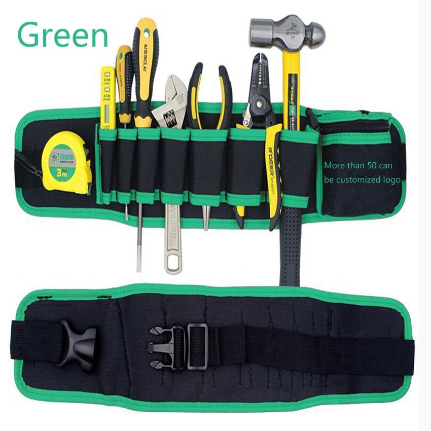 Kuummüük mitmevärvilised elektrikud tööriistavööde - Tööriistade hoiustamine - Foto 5