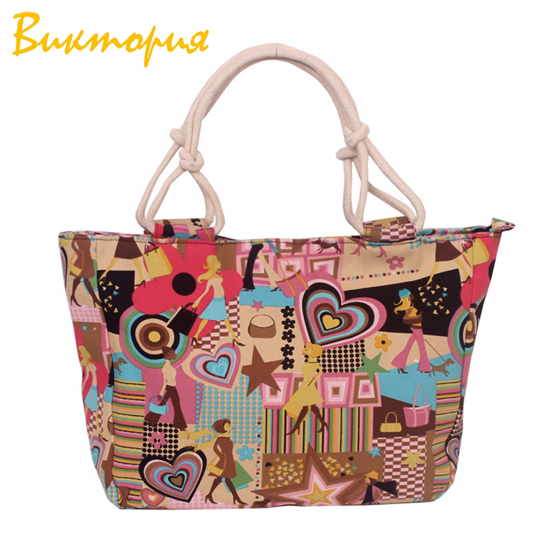 CHARA'S BAG barnd Designers handbags Cartoon creativity printing women's Shoulder Bags student Unisex canvas book bags