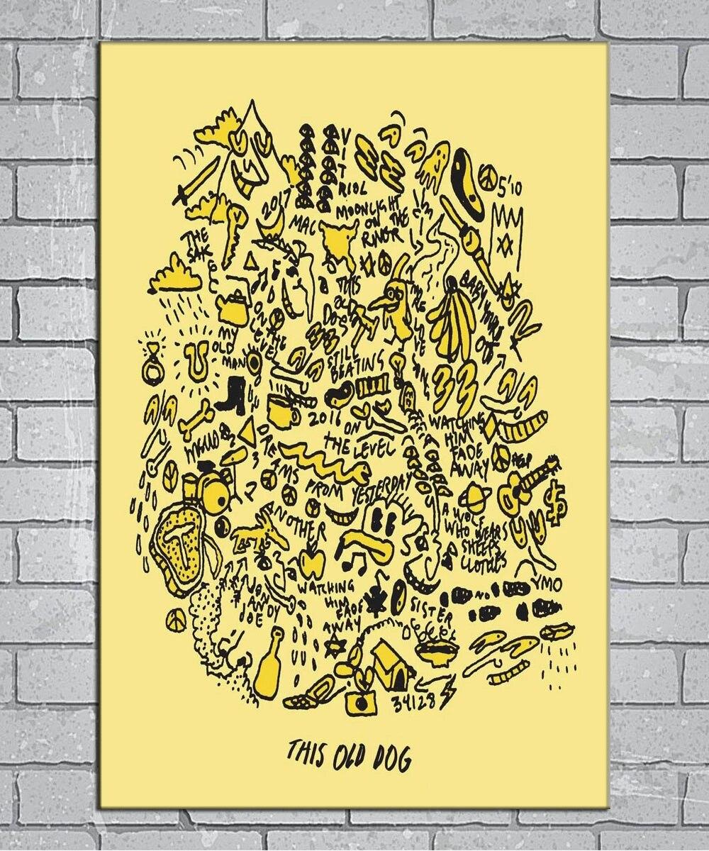 Mac DeMarco Post-Punk Music T-2471 Art Poster 24x36 27x40