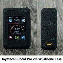 2017 Nuevo Producto Caliente 13 colores Funda de Silicona para 200 W Joyetech Cuboide Pro con 2.4 pulgadas TFT/CTP pantalla Táctil envío gratis