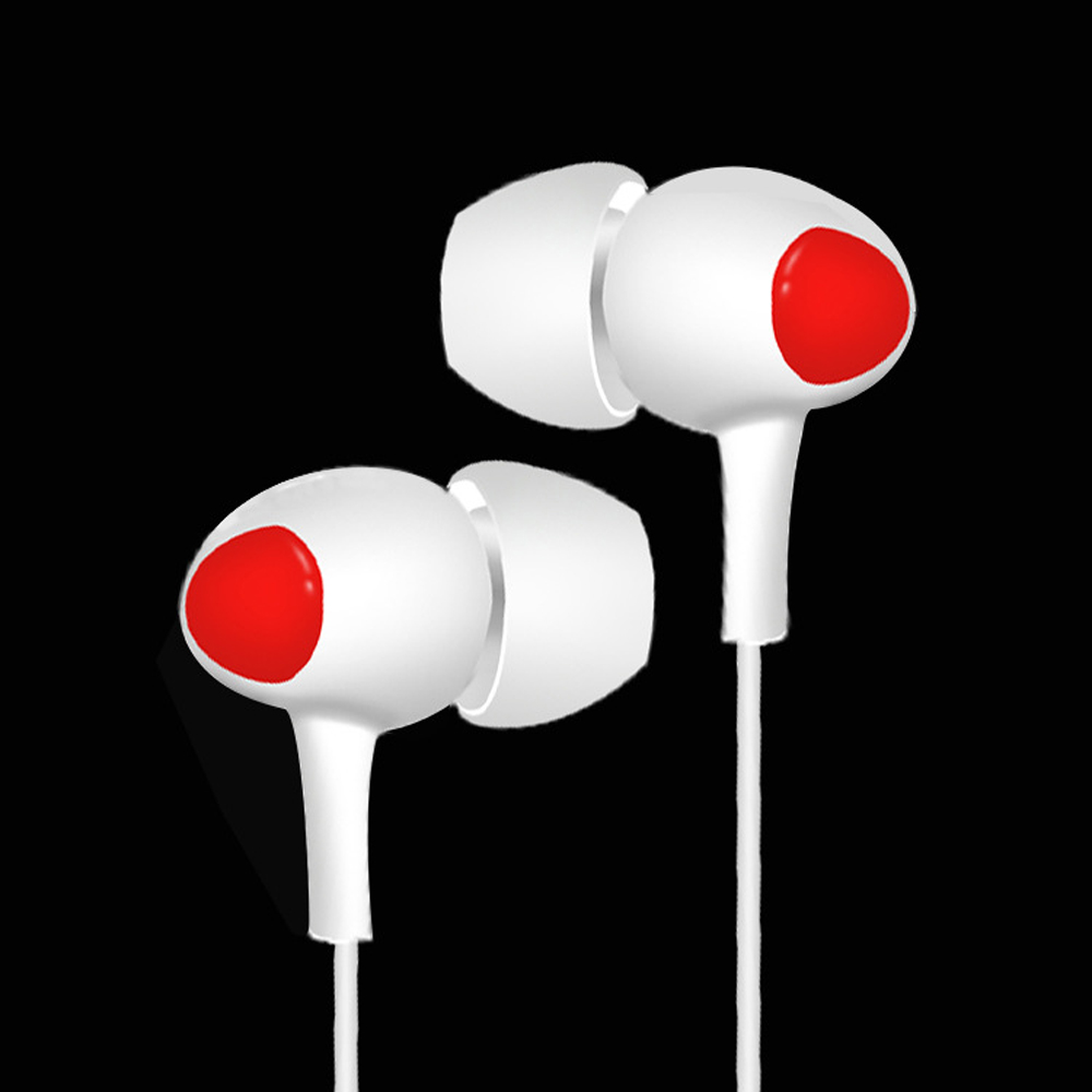 qijiagu 50PCS High Quality In Ear Earphones earphone with mic for xiaomi iPhone 5 6 wired earphone Wholesale price in Phone Earphones Headphones from Consumer Electronics