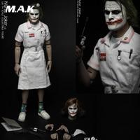 In Stock For Collection Full Set Action Figure 1/6 joker Nurse Ugliness 2.0 Nurse Joker 2.0 Double Heads Accessory Fans Gifts