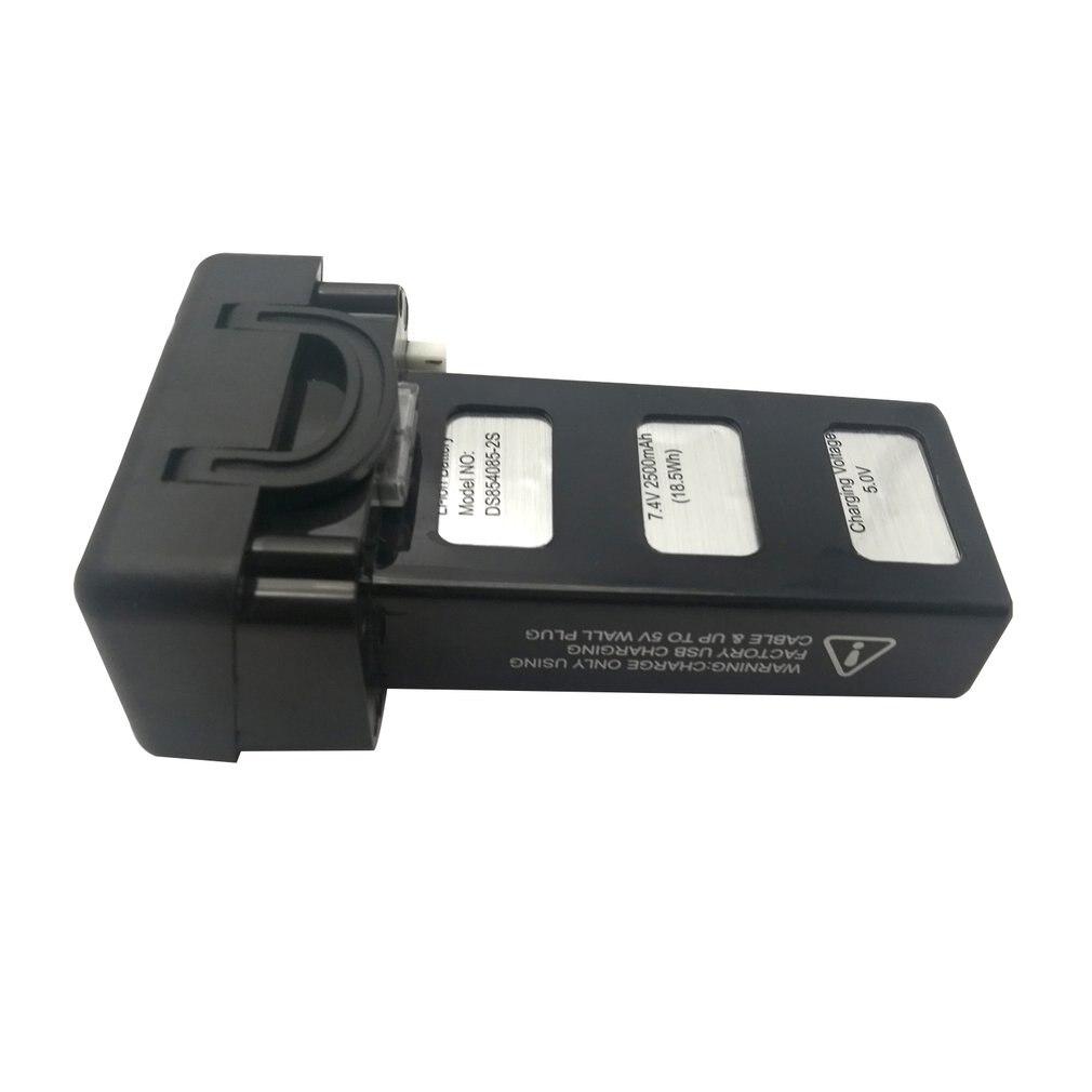 Nouveau 3.7 V 2500 mAh 2 s 1 P batterie Lipo haute capacité pour X38G RC quadrirotor Drone pièces de rechange accessoires composant