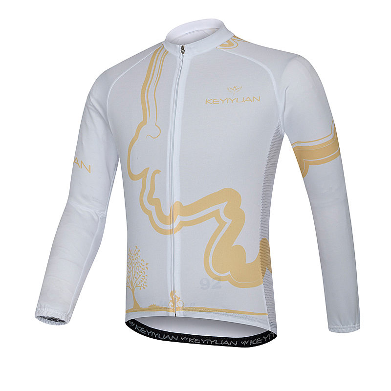 KEYIYUAN riding President suit mens summer suntan breathable long-sleeved shirt mountain bike ride is suitable for outdoor spor