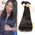 World best 7a virgin brazilian straight hair 100% human hair weaving unprocessed mink brazilian virgin hair straight 3pcs