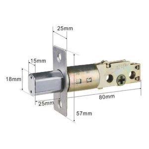 Image 4 - Elektronik dış kapı kilidi dijital akıllı kapı kilidi küçük kod şifre tuş takımı güvenli sürgü kapı kilidi 2 uzaktan kumandalı ve anahtarlar