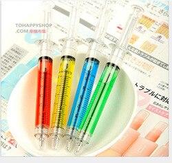 2500 teile/satz Fedex Schnelles Verschiffen Nette Koreanische Fabrik Schreibwaren Nadel Spritze Nadel Kugelschreiber Großhandel Spritze Stift Kinder Spielzeug Stift