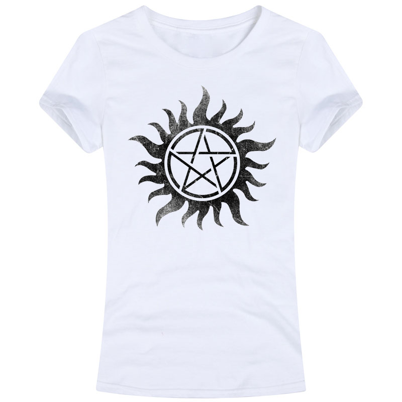 TV Show Series SUPERNATURAL Adult Tees Tops T Shirts dean winchester sam winchester spnfamily castiel sam and dean