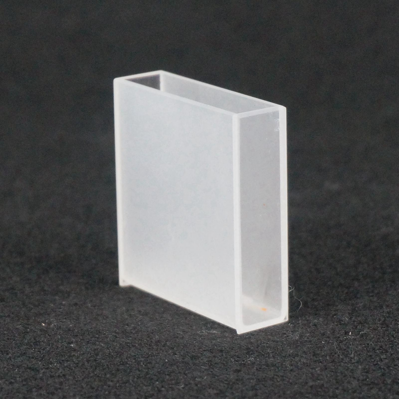 40mm Path Length Jgs-3 Quartz Cell Cuvette Cell With Telfon Lid For For Infrared Spectrometer