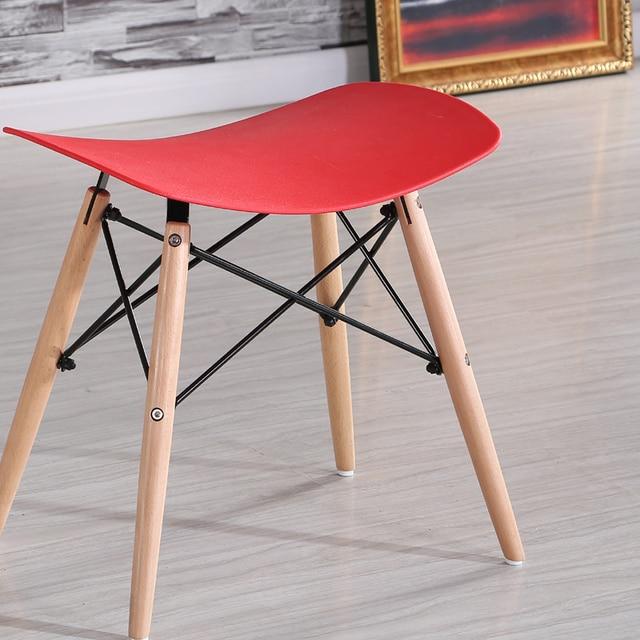Minimalistischen Modernen Design Kunststoff und Holz Esszimmer ...