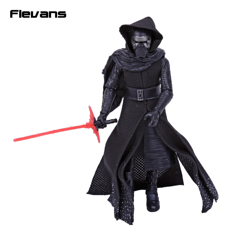 NEW HOT Star Wars 7 The Force Awakens Kylo Ren PVC Action Figure Collectible Model Toy 16cm 2017 new hot 21inch 52cm 700% bearbrick be rbrick diy fashion toy pvc action figure collectible model toy decoration