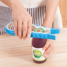 BF040 Fashion Screw Cap Jar Bottle Wrench 4 in 1 creative Multifunction Gourd-shaped Can Opener Kitchen Tool 9*23cmfree shipping
