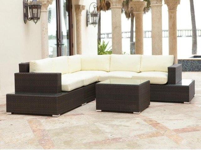 Sigma comercio garantía interior mimbre seccional muebles para el ...