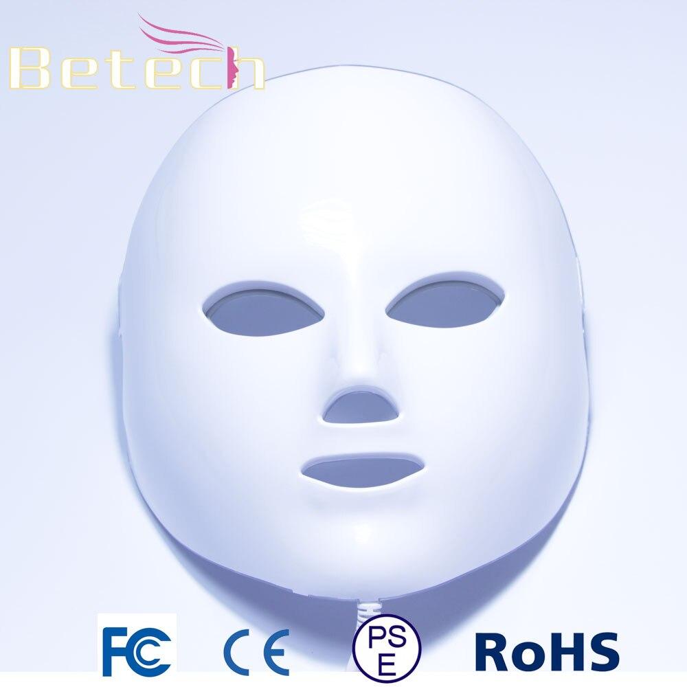 7 LED colors Photon Mask skin PDT LED Light Photodynamic therapy treatment
