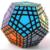 2016 Nueva MF8 Gigaminx Cubo Mágico de Plástico Rompecabezas Desafío Para la Mente de Color Negro Vendedor Caliente Velocidad Twisty Puzzle Juguetes para Niños