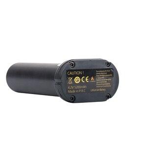 Image 4 - Huepar Nieuwe Originele 3.7V 5200Mah Oplaadbare Lithium Batterij Voor 903CG/GF360G/903CR/GF360R
