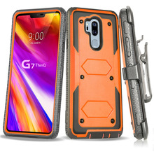 Heavy Duty Hybrid Rugged Case For LG G7 ThinQ / G8 Shockproof Hard Fundas With Belt Clip Holster Cover case
