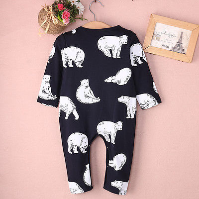 Baby Polar Bear Rompers...