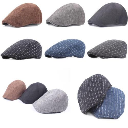 ff7e0da2a67 New 2018 Men Women s Hat Beret Cap Golf Driving Sun Flat Cabbie Newsboy  Fashion Vintage Unisex