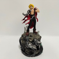Fullmetal Alchemist Edward Elric Action Figure Toy With Base Anime Fullmetal Alchemist Edward Alphonse Elric Figurine