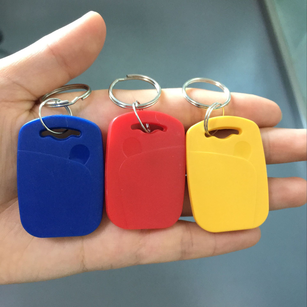 RFID 13.56mhz 1K UID Changeable & T5577 125khz dual chip frequency IC/ID key tag Readable Writable Rewrite for copy clone backup