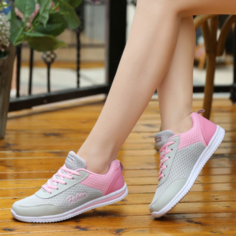 Network Soft woman Casual Shoes 2018 New