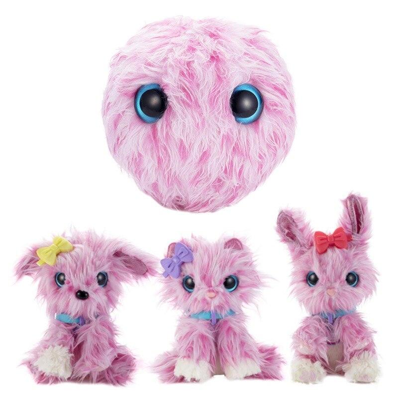 Los niños de juguete de felpa animal 2019 regalo de Año Nuevo para niños niñas cuello un luvs